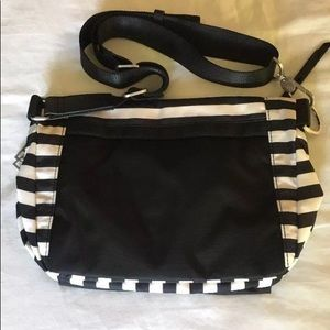Striped lululemon bag